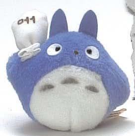 Totoro : Mini peluche vibrante Totoro Bleu