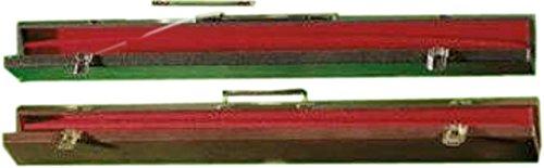Schwarz, Buchsbaum Pool & Billard 2Stück Stick Schutz Tasche Snooker Queue Koffer