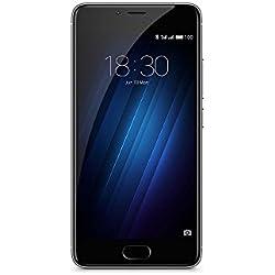 Meizu M3S Smartphone, Dual-SIM, 16 GB, Grigio