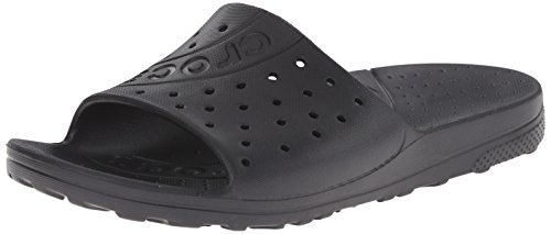 Crocs Chawaii Slide, Chaussons Mules mixte adulte Noir (Black)