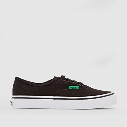 Vans Unisex-Kinder Authentic Sneaker Schwarz (sport Pop/black/kelly Green)