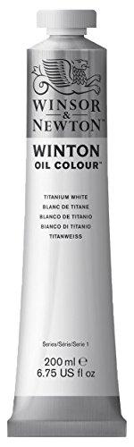 Winsor & Newton Ölfarbe, Titanweiß, 4,8 x 9,6 x 21,7 - Winsor öl-pinsel