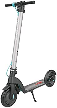 Eskuta KS-350 Electric Scooter - Lightweight Foldable Electric Scooter for Adults with Built-In LED Lighting,