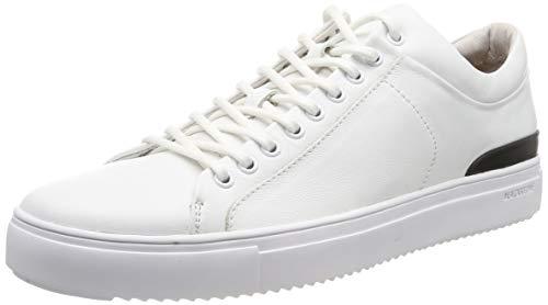 Blackstone Herren PM56 Hohe Sneaker, Weiß Whit, 46 EU