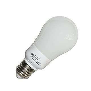 Avalva 0442 11/C/Energiesparlampe, Glas, magnetisch, 11 W, E27, Weiß