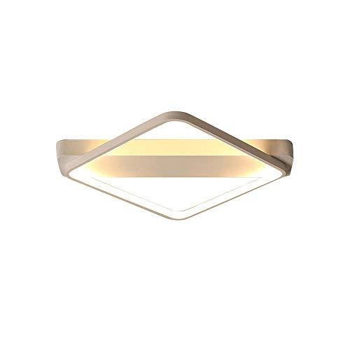 DLINMEI Acryl Moderne Kronleuchter für Wohnzimmer Schlafzimmer Küche Zimmer Led Diamant Weiß Farbe Finish 3000 Karat 4000 Karat 6000 Karat Drei-Farben-Dimmen - Drei-karat-diamant