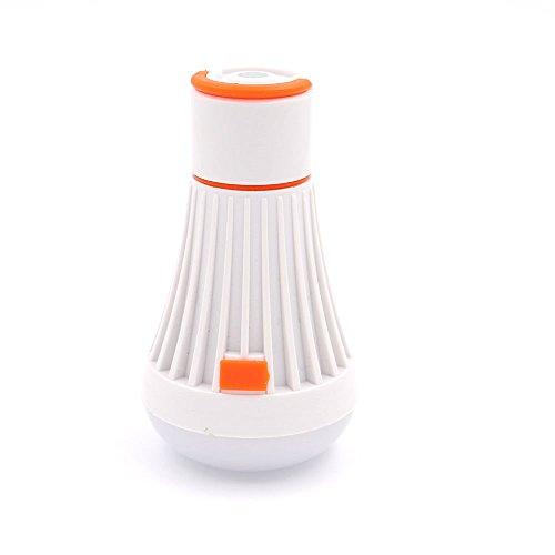Fly53 FLY Mini LED Plastic Camping Light Work Light Waterproof Outdoor Lighting Camping Light flashlight (Color : ORANGE)