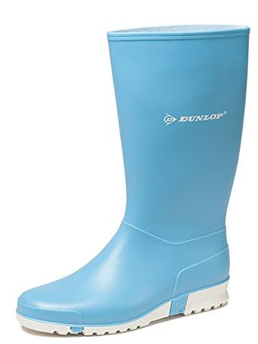 Dunlop Sport Pink, Signora Stivali di gomma in Pink Blau