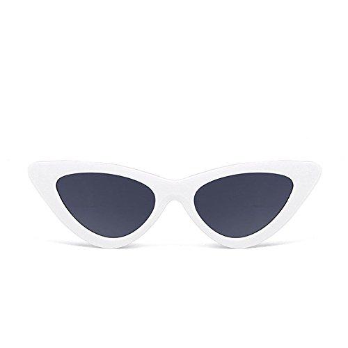 Battnot☀  Sonnenbrille für Damen Herren, Katzenaugen Frame Bonbonfarbene Unisex Vintage Mode Rahmen UV Gläser Sonnenbrillen Männer Frauen Retro Billig Cat Eye Shades Sunglasses Coole Women Eyewear