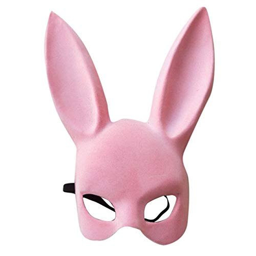 WSCOLL Halloween Maske Sexy Girl Cosplay Nette Party KTV Kostüm Requisiten Lange Hasenohren   Bunny Bondage Maske Maskerade China - Metal Kids Kostüm
