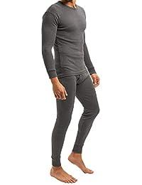 MT® THERMO LIGHT - Set de ropa térmica para hombre - Camiseta y pantalón - Fibra climática que abriga, es suave y transpira - Calidad de celodoro - Disponible en tallas de la M a la 3XL