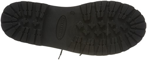 Stockerpoint  Schuh 1224,  Unisex-Erwachsene Schnürhalbschuhe Schwarz (Schwarz Nappa)