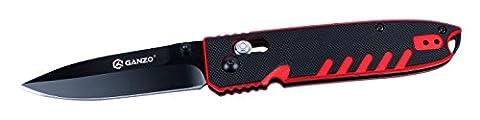 Ganzo Taschenmesser G746-3-RB Klingenlänge: 85 mm