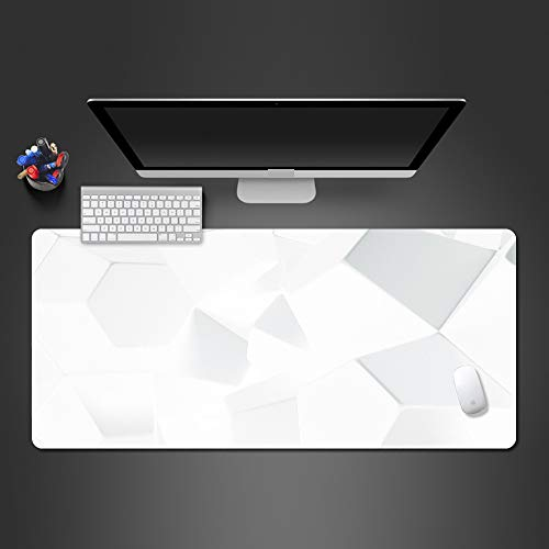 Regenbogen Wanduhr Mauspad Hohe Qualität Mauspad Spiel Team Gummi Spiel Computer Tastatur Spiel Pad Spieler 700x300x2 (Theater Qualität Kostüm)