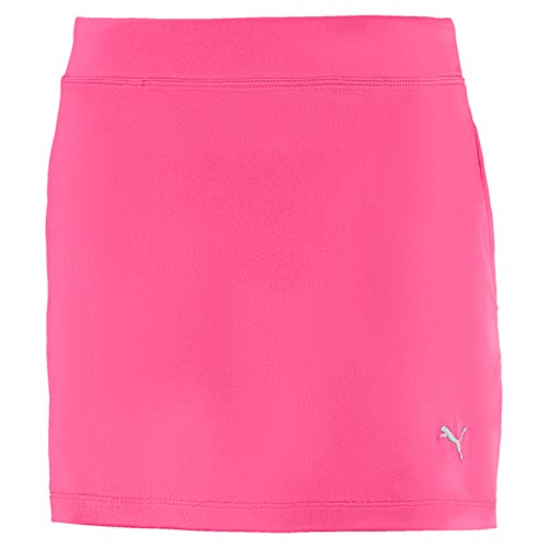 Puma Mädchen Girls Solid Knit Skirt Rock, Carmine Rose, 164
