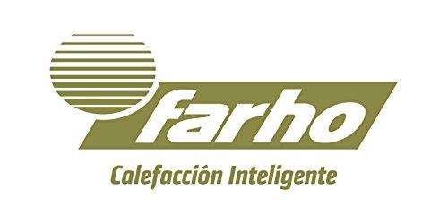 farho-Toallero-Elctrico-Serie-Nova-Litte-Cromado-Radiador-Toallero-bajo-Consumo-con-Crono-Termostato-Digital-con-400-Watios-y-Medidas-80-x-50-cm-Toallero-con-10-aos-de-Garantia