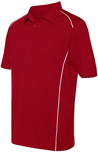 Augusta - Polo - Herren Red/White