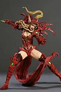 World of Warcraft Series 1 Valeera Sanguinar Blood Elf Rogue Action Figure by DC Direct