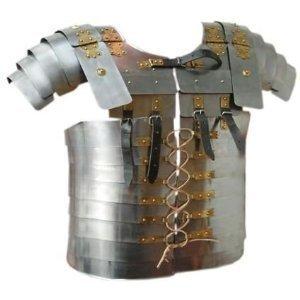 Roman Lorica Segmentata Body Armor Breast Plate Full Size by Armor