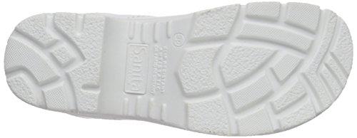 Sanita San-Duty Open-SB, Zoccoli Unisex – Adulto Bianco (Weiß (White 1))