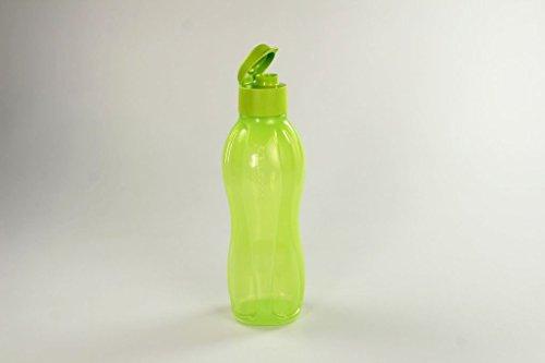 TUPPERWARE Eco 1 L Trinkflasche To Go Ökoflasche Flasche Öko EcoEasy limette 14857