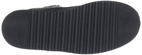 Buffalo 1300-4 Texas Oil, Hi-Top Slippers femme Noir - Schwarz (NEGRO 01)