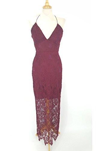 ax-paris-vin-d992-crochet-v-neck-robe-maxi-uk-8-us-4