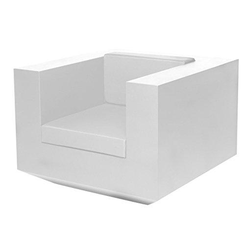 Vondom Vela - Chaise Longue, Blanc Mat