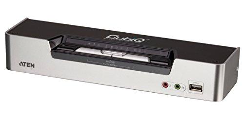 Aten CS1642 KVMP 2-fach Switch (2-polig, 2x USB, 2x DVI)