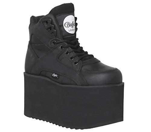 Buffalo 1300-10 2.0 1534042 Leather Womens Boots - Negro - 40