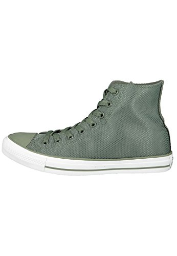 Converse Tech Deboss, Chaussons montants mixte adulte Mehrfarbig (Olive Submarine/White/Brown)