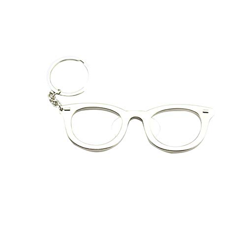 Chakil Metall Brillengestell Öffner Multifunktions Schlüsselanhänger Vatertagsgeschenk Mode Schlüsselanhänger Bier Flaschenöffner Schlüsselanhänger Anhänger Dekoration Hängende Verzierung