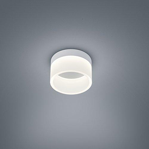 Helestra LED Deckenleuchte Liv Weiß-Matt IP30 | LEDs fest verbaut 940lm warmweiß | 15/1732.07