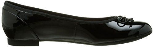 Clarks Couture Bloom, Ballerine Donna Nero (Black Pat)