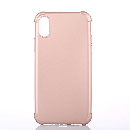 GR iPhone 8 Cover - Fallschutz-Schutzhülle Rückseite Shell, kleine Menge empfohlen, bevor das iPhone 8 startet ( Color : Rose gold ) Rose gold
