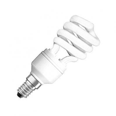 LAMPADA CFL SPIRALE OSRAM E27 23W 865 DULUX PRO MINI TWIST LUCE FREDDA 6500K