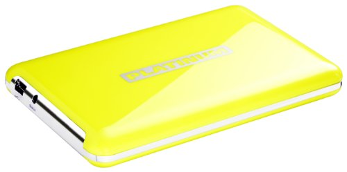Platinum MyDrive 320GB externe Festplatte (6,4 cm (2,5 Zoll), 5400rpm, USB) gelb