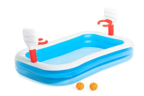 Bestway Basketball Play Paddling Pool - Blue