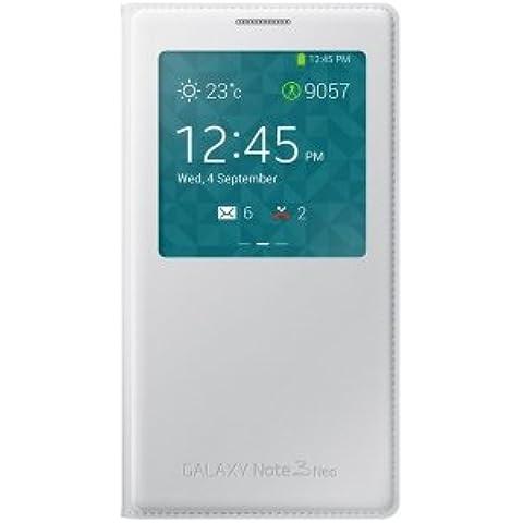EF-CN750B original for Samsung S-View Cover para N7505 Galaxy Note 3 Neo - blanco