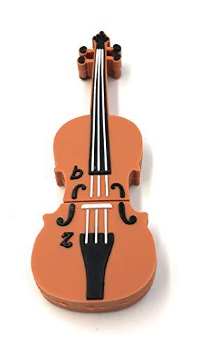 Onlineworld2013 violino violine celle brown divertente chiavetta usb 64 gb usb 2.0