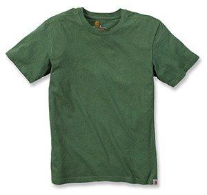 Carhartt Carhartt Big & Tall Maddock kurzärmeliges T-Shirt Ohne Taschen für Herren, Herb, X-Small