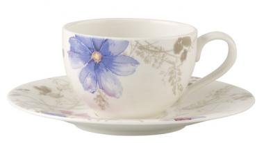 Mariefleur Gris Basic Kaffeetasse mit Untertasse 2tlg.