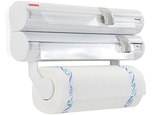 Leifheit Rolly Mobil ComfortLine - Portarrollos de Pared de plástico, Color Blanco