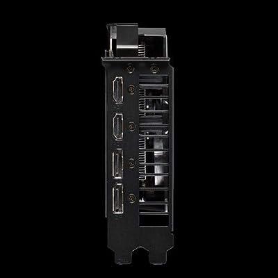 Asus ROG Strix GeForceGTX 1650 Advanced Edition, Scheda Video Gaming per Gaming HD, Dissipatore DirectCU II e Tecnologia AutoExtreme