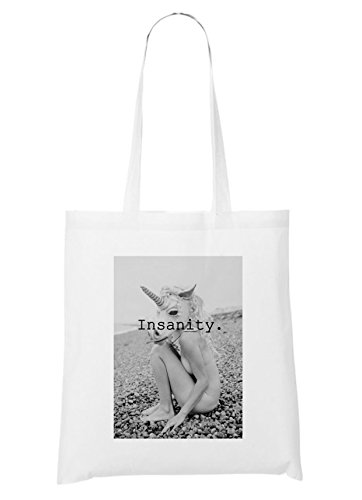 Insanity Unicorn Sac Blanc