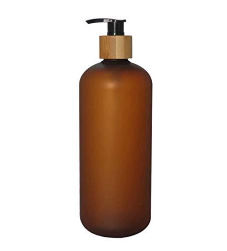 Upstore - Botella plástico antigoteo Bomba bambú