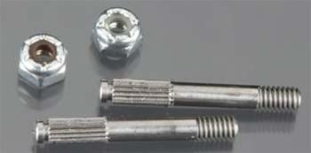 RJ SPEED 5364 Threaded Stub Axles w/Nuts (2) RJSC5364 by RJ SPEED