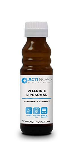 Liposomales Vitamin C   hochdosiert   für dein Immunsystem   100 ml   Tagesdosis 1000 mg Vitamin C   hohe Bioverfügbarkeit   flüssig   ohne Zusätze   vegan