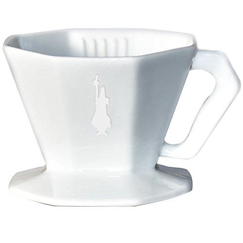 Bialetti 6366 Kaffeefilter 2 Tassen, Porzellan, weiß, 30 x 20 x 15 cm