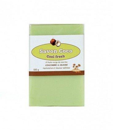 Savon Coco Cool Fresh : Concombre/Amande